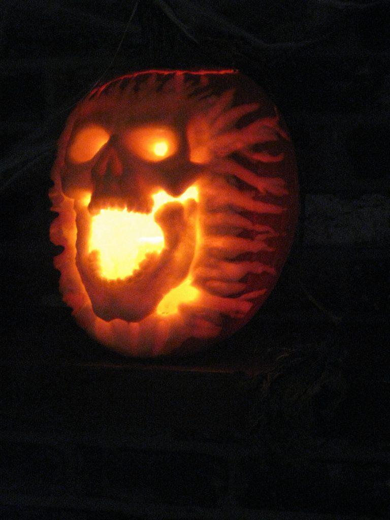 Dirty Halloween pumpkin carving templates