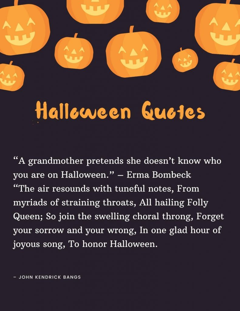 Halloween quotes and images