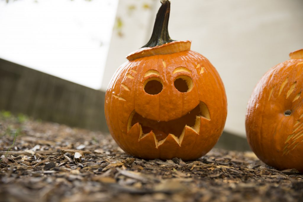 Happy Halloween pumpkin carving templates