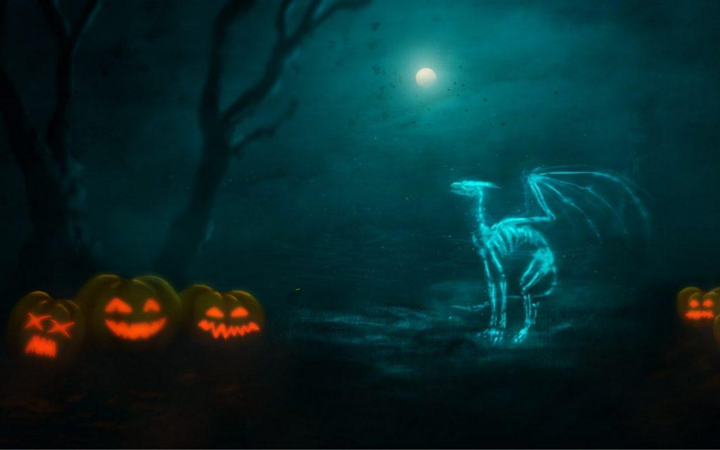 aesthetic cute halloween wallpaper