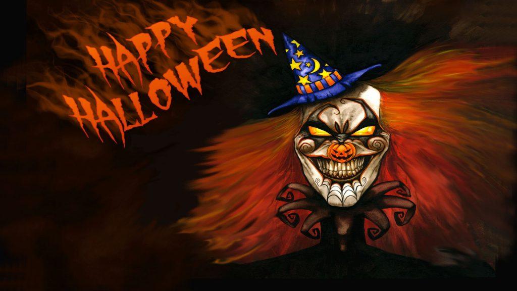 Joker say Happy Halloween