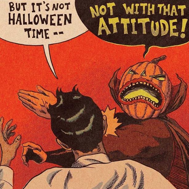 Funny Halloween Jokesbut it's not halloween time not