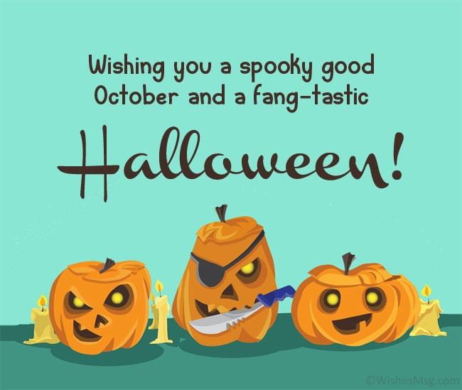 Halloween Wishes For Friends joke