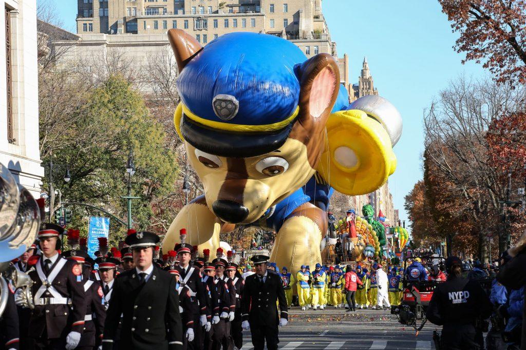 Happy Macy Thanksgiving day parade