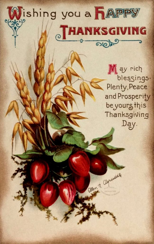 Happy Thanksgiving Blessing 2021