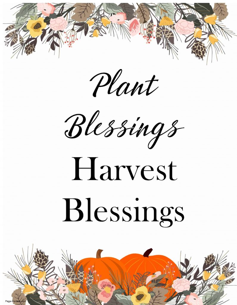 Happy Thanksgiving Blessings 2021