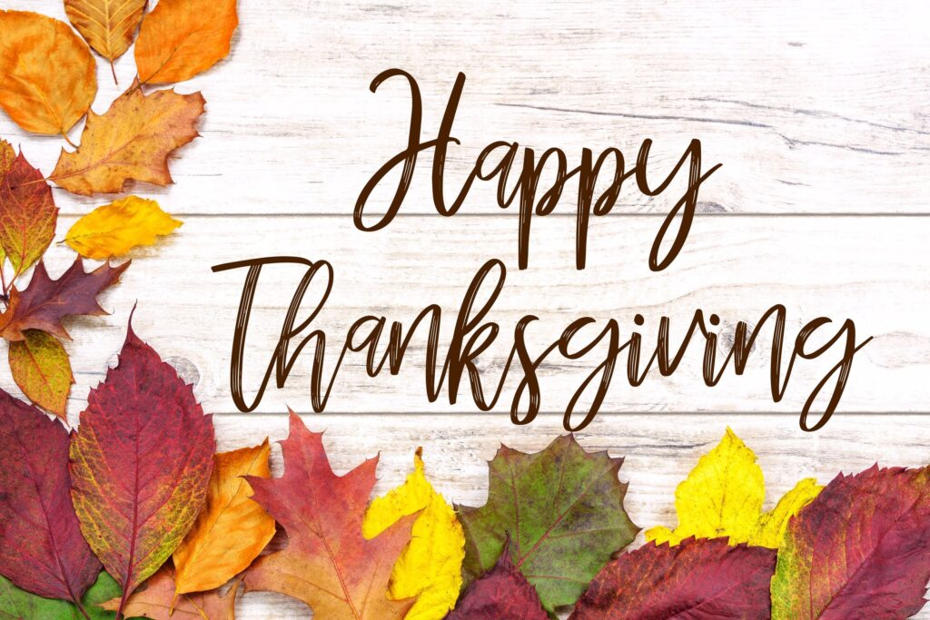 Happy Thanksgiving Greetings In Advance