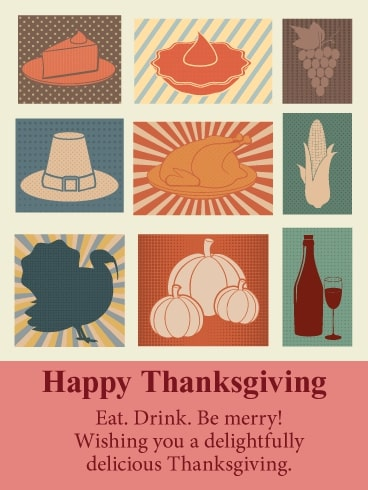 Eat, Drink, Be Merry! Wishing You a Delightfully Delicious Thanksgiving