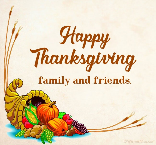 Happy Thanksgiving Wishes Messages