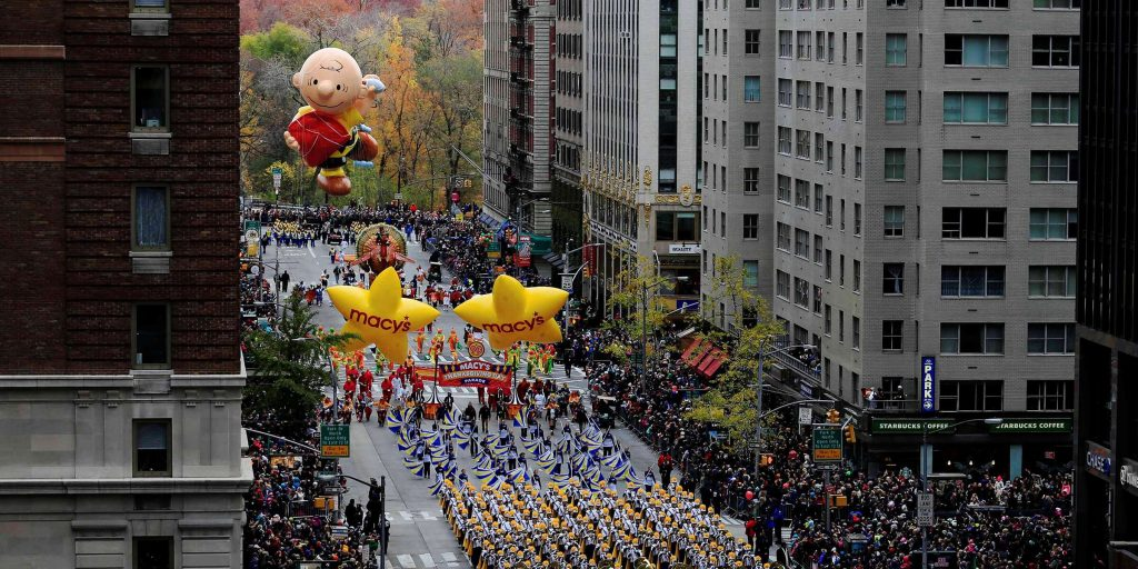 Macy's Thanksgiving day parade pictures