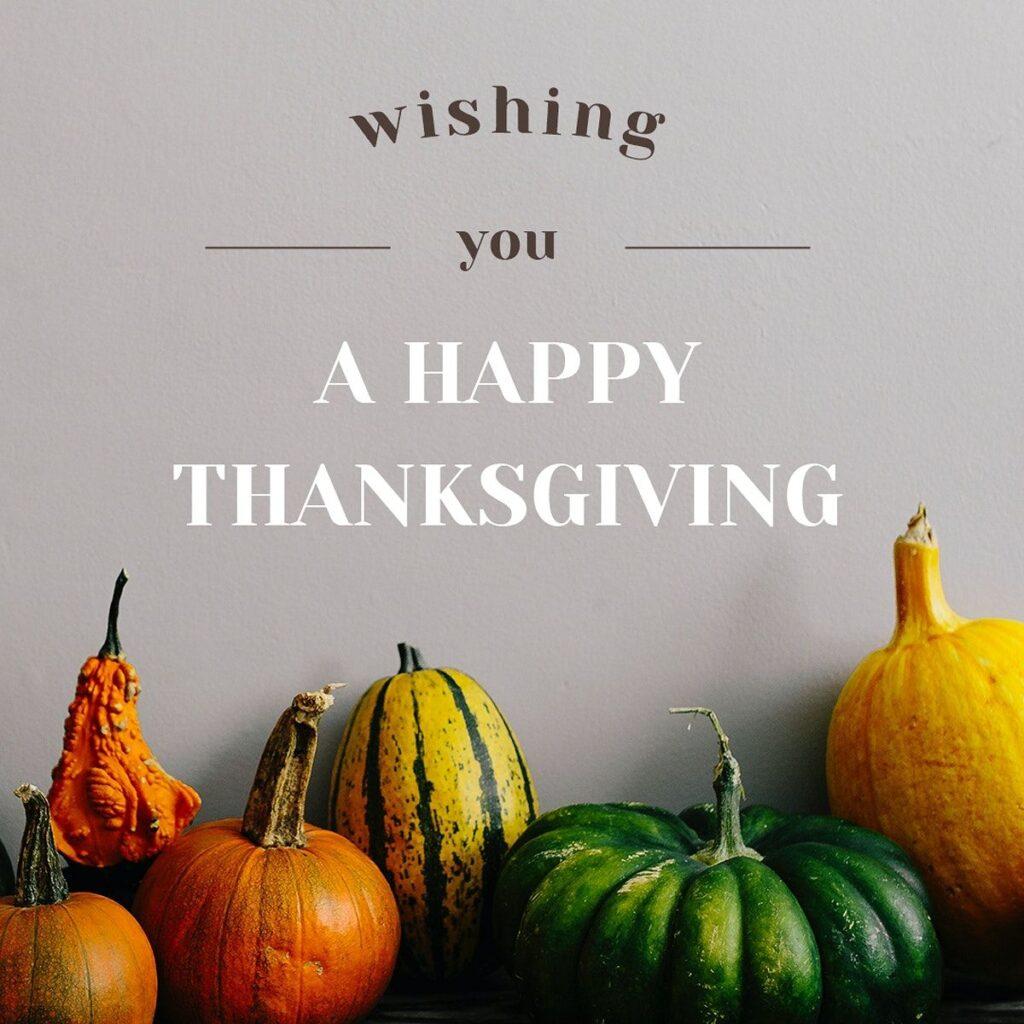Thanksgiving day greetings 2021