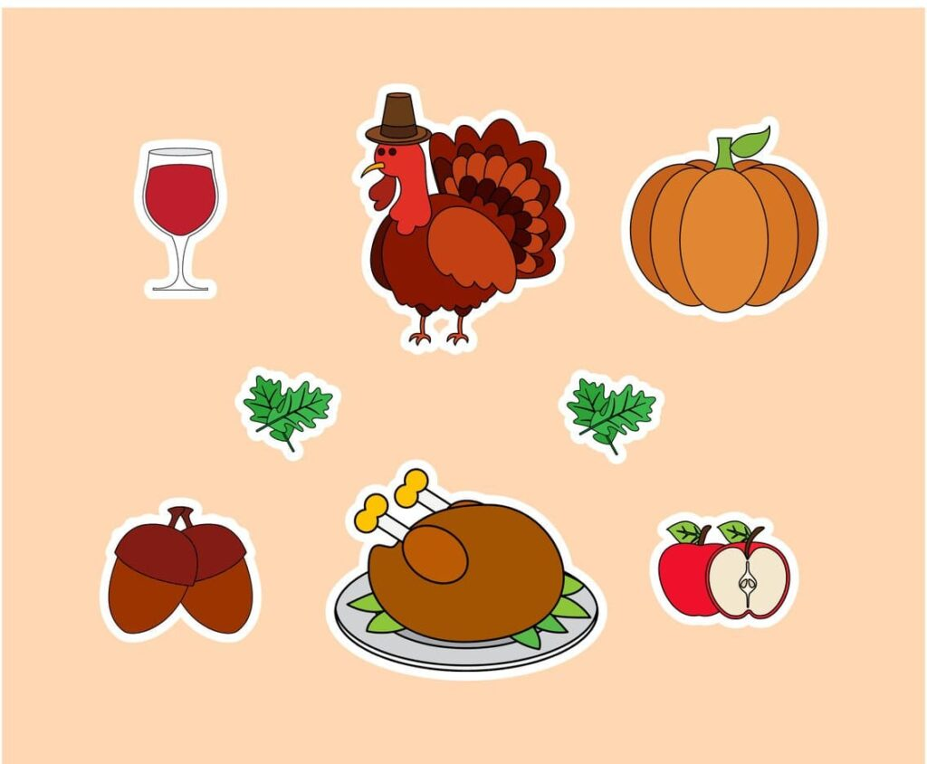 Thanksgiving pictures clip arts