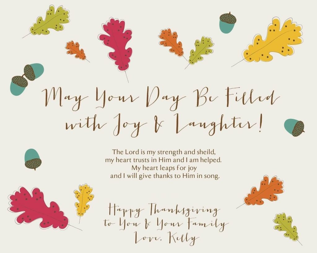 christian happy thanksgiving wishes