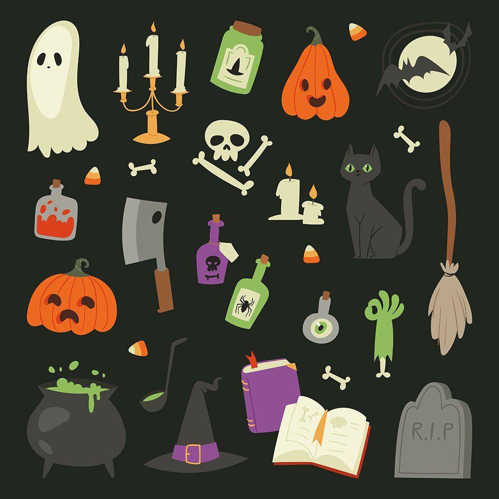 cute halloween symbols copy and paste