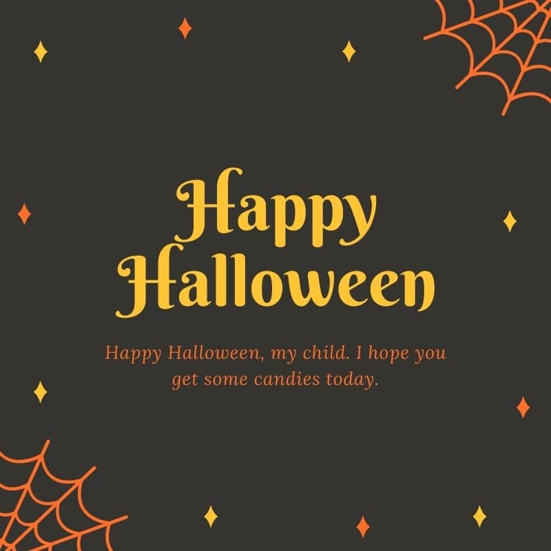 Halloween Wishes For Grandson