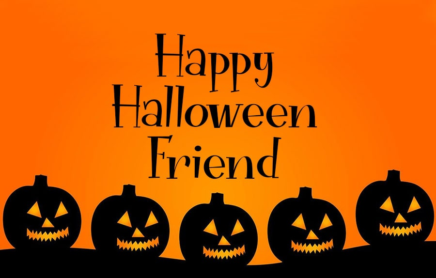 happy halloween wishes messages