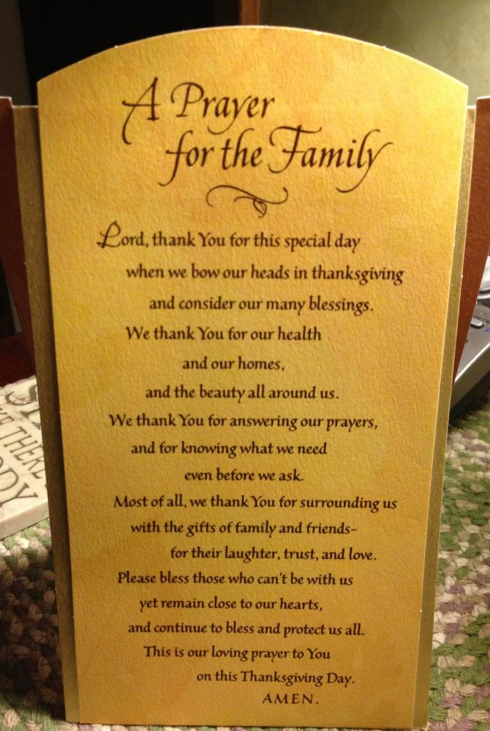 happy thanksgiving blessings clipart