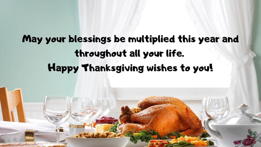 happy thanksgiving wishes from business