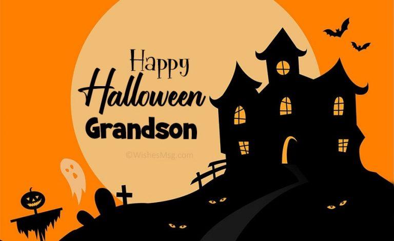 message inside halloween card