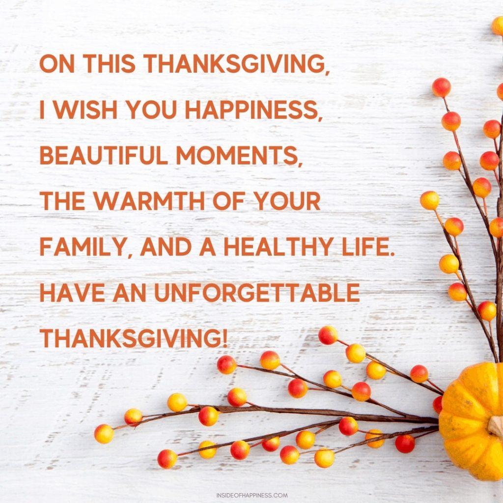 religious happy thanksgiving wishes