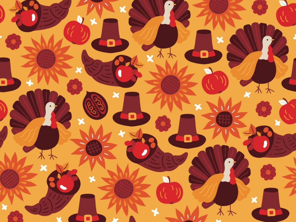 thanksgiving background 2021 animated