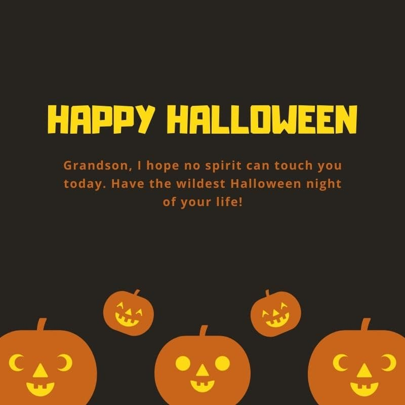what to write on kids halloween card