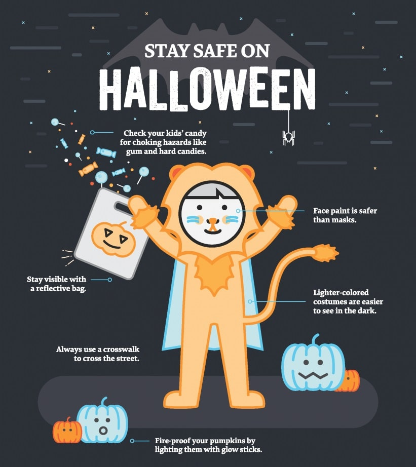 Stay Safe on halloween