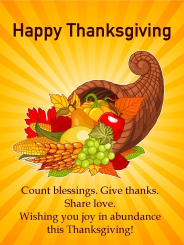 Thanksgiving Message To God