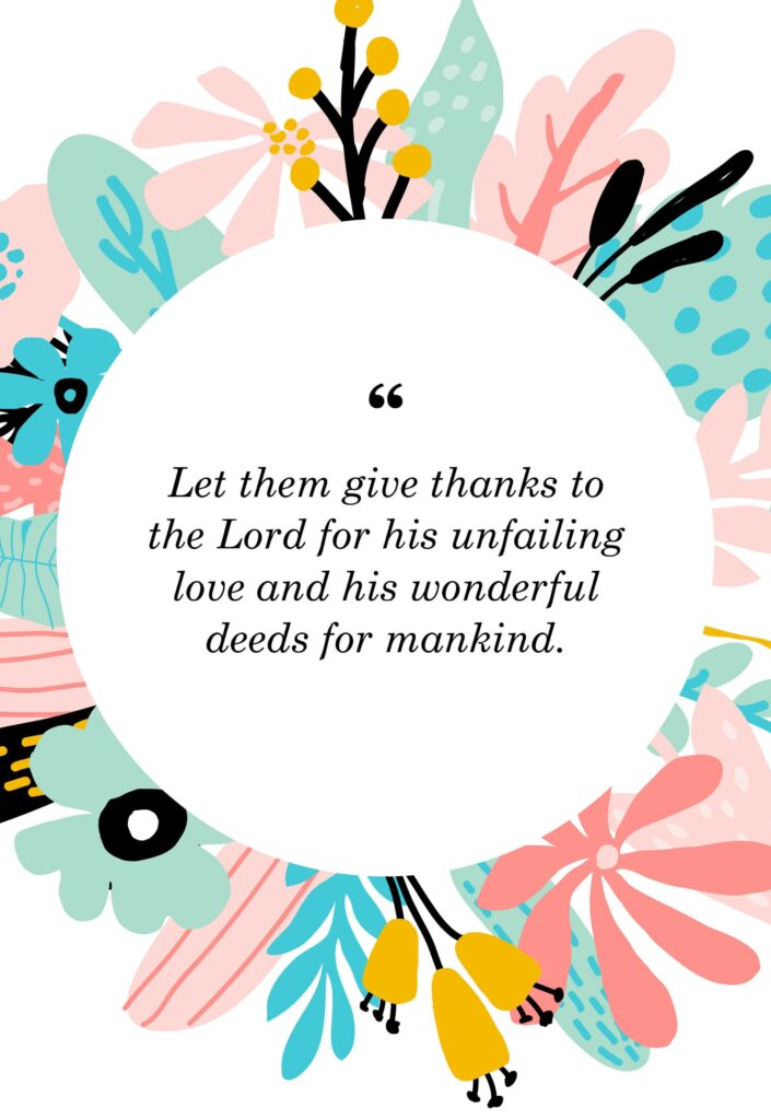 bible verses about being thankful for someone