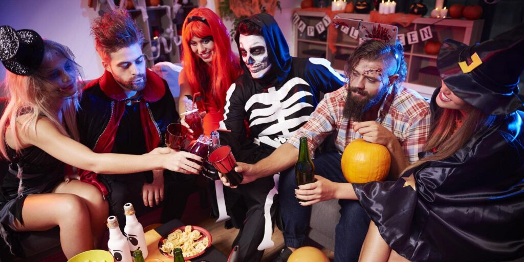 halloween tips  for college students