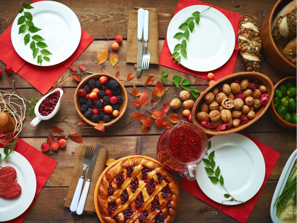 healthy thanksgiving food