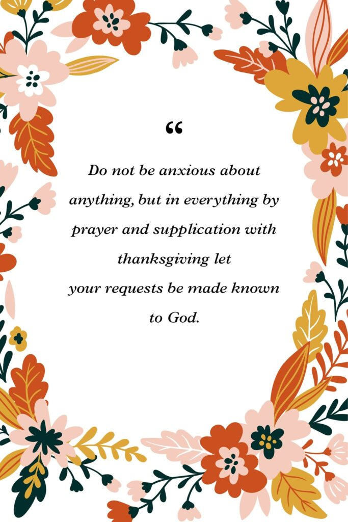 prayers of Thanksgiving in the bible