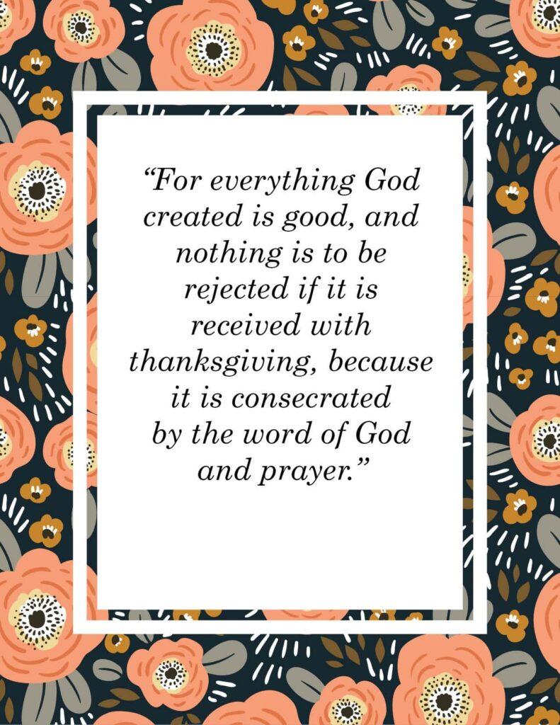 thanksgiving scripture verses