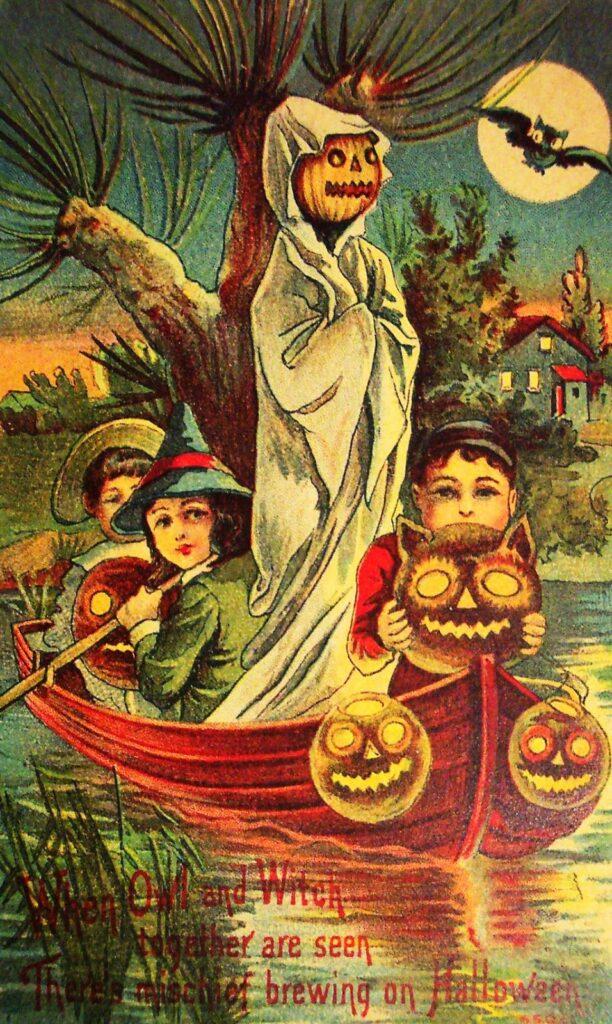 victorian halloween parlor games