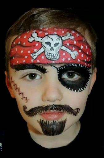 Cute Little Boy wearing pirates dress