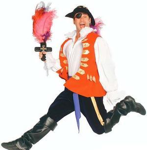 Boy wearing Pirates dress