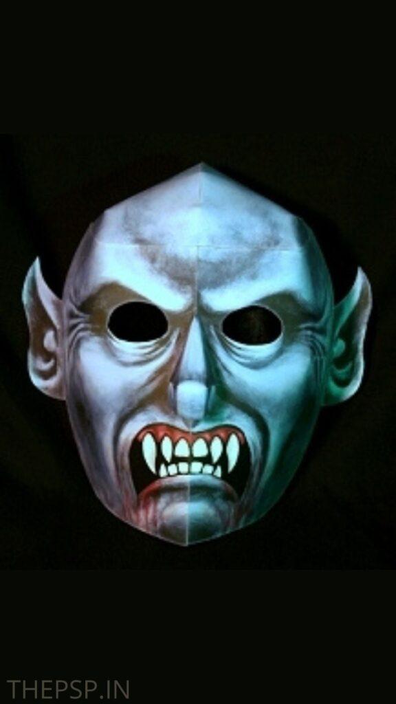 purge mask girl